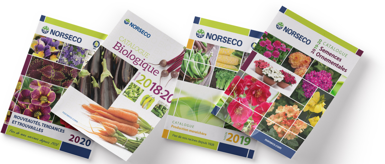 catalogues semences Norseco